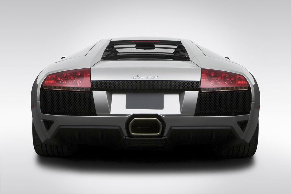 Lamborghini from Behind