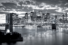 Фотообои - Brooklyn Bridge Cloudy Day