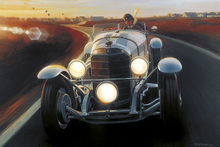 Canvas print - Mercedes SSK