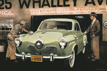 Canvas print - Studebaker Commander