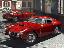 Canvas-taulu - Ferrari 250 GT