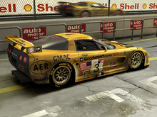 Wall Mural - Corvette In Pit Lane
