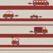 Wallpaper - Brum Brum - Red