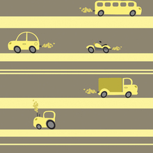 Wallpaper - Brum Brum - Yellow
