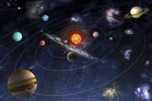 Wall mural - Solar System
