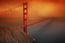 Canvas print - Golden Gate