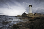 Fototapet - Sardinia Lighthouse