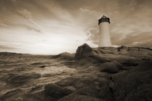Wall mural - Sardinia Lighthouse