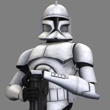 Canvastavla - Clone Trooper - Trooper