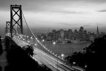 Fototapet - San Francisco - b/w
