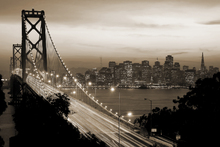 Canvas print - San Francisco, California, USA