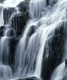 Wall mural - Waterfall
