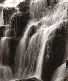 Fototapete - Waterfall