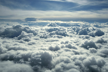 Fototapet - Above Clouds