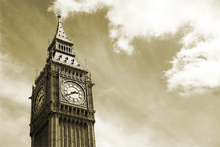 Canvas print - Big Ben, London, UK