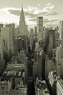Canvas-taulu - Above Manhattan