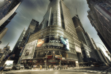 Canvastavla - Times Square, Manhattan, New York