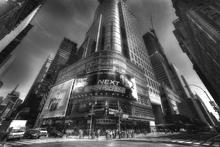 Canvas-taulu - Times Square - Manhattan - b/w