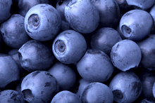 - blueberries