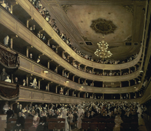 Canvas print - Old Castle Theatre - Gustav Klimt