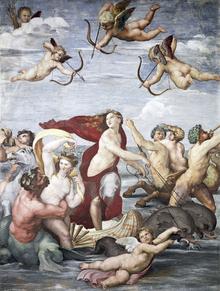 Wall mural - Raphael - Triumph of Galatea