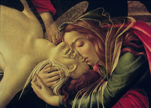 Canvastavla - Lamentation of Christ - Sandro Botticelli