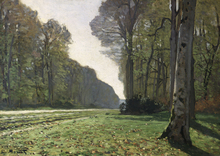Wall mural - Fontainebleau - Claude Monet