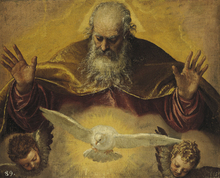 Fototapet - Eternal Father - Paolo Veronese