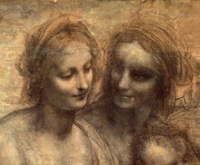Valokuvatapetti - Virgin and Child - Leonardo da Vinci