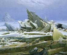 Wall mural - Friedrich, Caspar - Polar Sea
