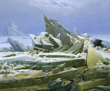 Wall mural - Polar Sea - Caspar Friedrich