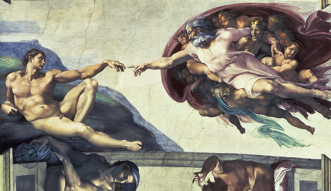 Creation of Adam - Michelangelo Buonarroti