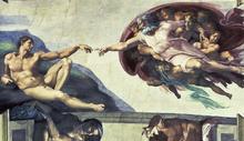 Wall mural - Buonarroti, Michelangelo - Creation of Adam