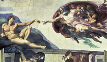 Wall mural - Creation of Adam - Michelangelo Buonarroti