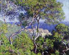 Canvastavla - Bordighera -  Claude Monet