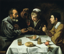 Canvastavla - Lunch - Diego Velasquez