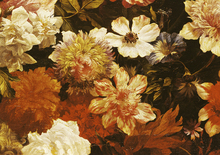 Canvas print - Detail of Flowers - Michelangelo Cerquozzi