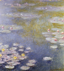 Canvastavla - Monet, Claude - Nympheas at Giverny
