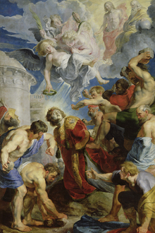 Wall mural - Stoning of St. Stephen - Peter Rubens