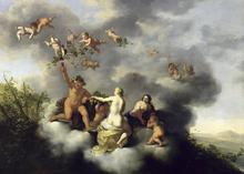 Wall mural - Poelenburgh, Cornelis van - Venus and Cupid