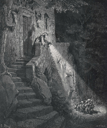 Wall mural - Dore, Gustave - Ogre in the Forest