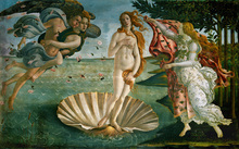 Wall mural - Sandro Botticelli - Birth of Venus