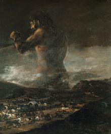 Wall mural - Goya, Francisco - Colossus