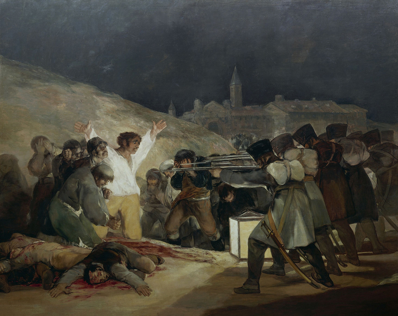 Francisco Goya - Execution of May 3rd
