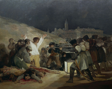 Canvastavla - Francisco Goya - Execution of May 3rd