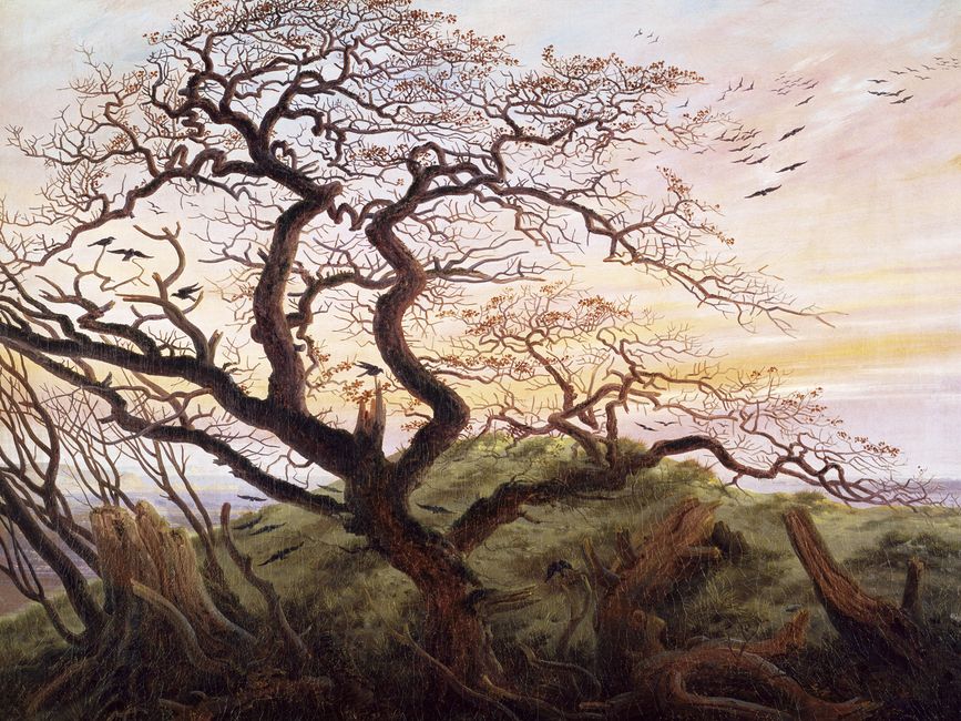 Tree of Crows, Caspar Friedrich