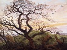 Wall mural - Friedrich, Caspar - Tree of Crows