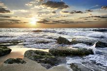 Fototapet - Sunset Coast