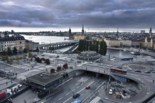 Fototapet - Stockholm Cloudy Evening
