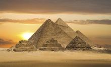 Fototapet - Pyramids Fantasy